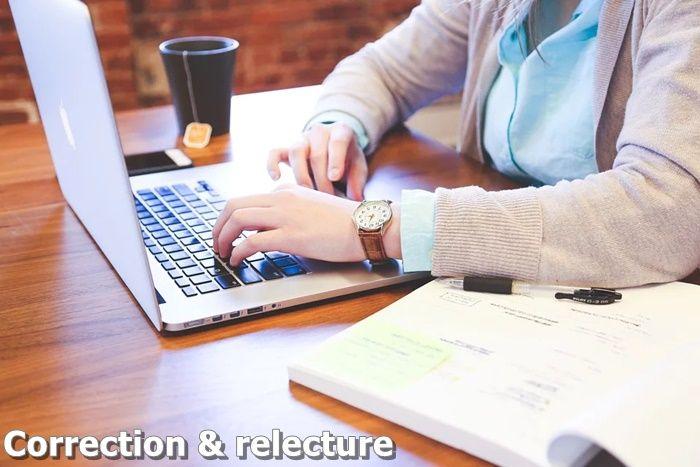 Correction de manuscrit